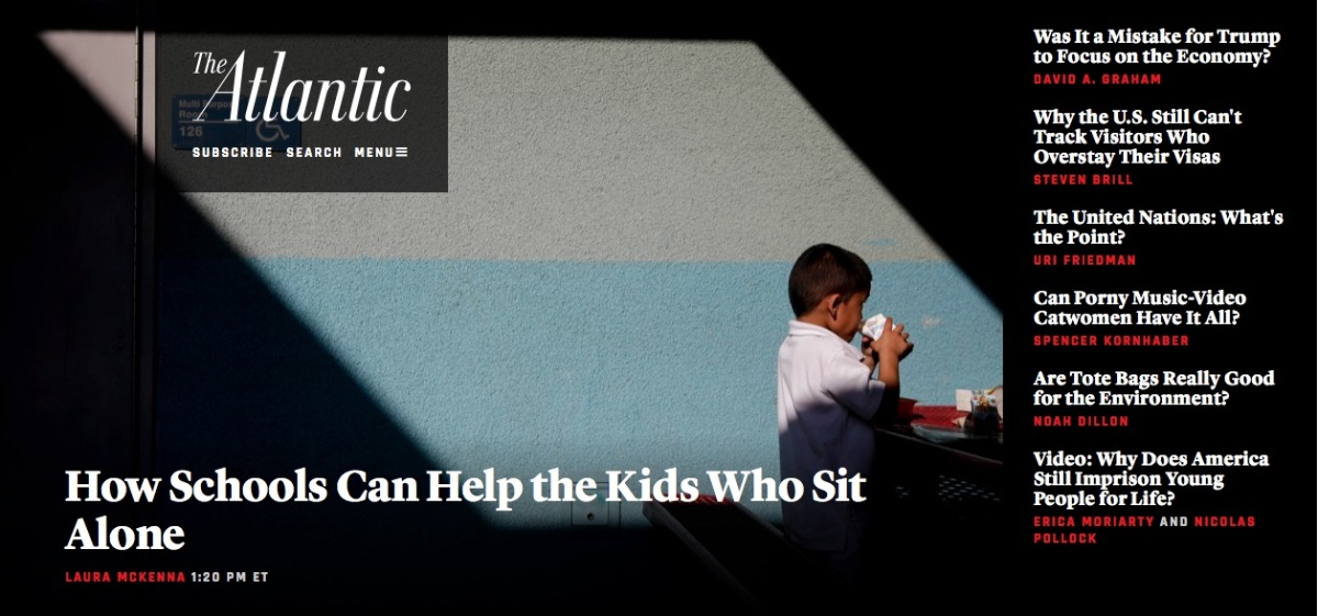 When Kids Sit Alone