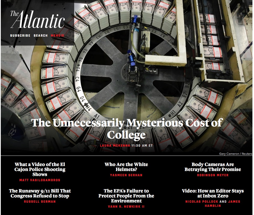 The Mysterious Cost ofCollege