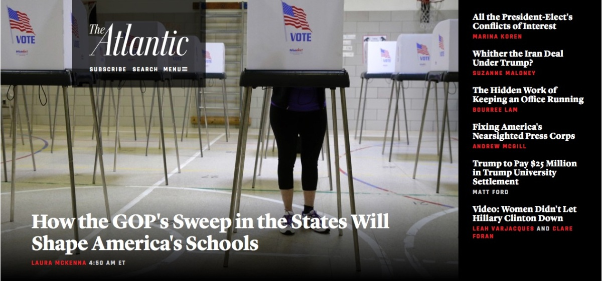 New State Gov'ts, Not Trump, Will Shape Schools