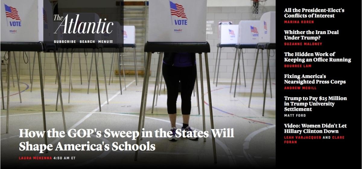 New State Gov'ts, Not Trump, Will ShapeSchools