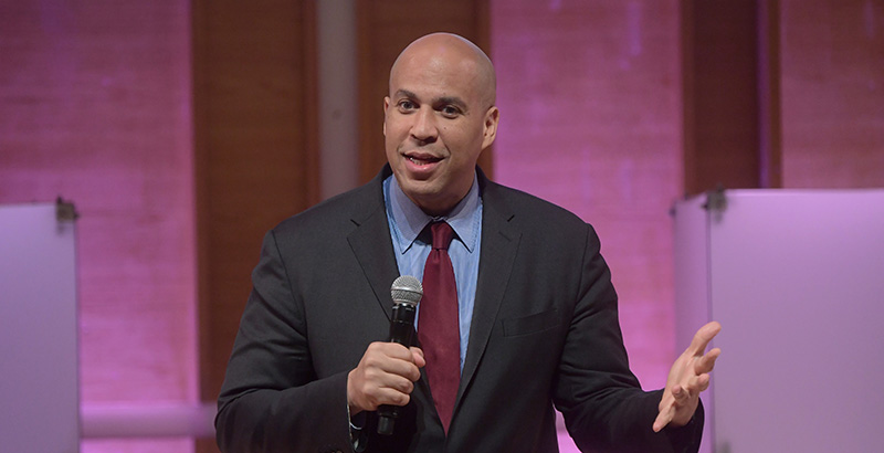 Cory Booker Speaks Out About School Reform